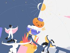 Amazing Mabon loop by Louis Wesolowsky for Buck. Autumnal Equinox, Mabon, Motion Graphics, Surrealism, 2d, Images, Witch, Gifs, Calm