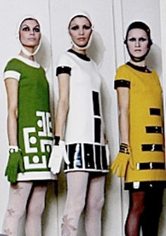 1960's Mod 1960s Mod Fashion, Sixties Fashion, 60 Fashion, Fashion History, Retro Fashion, Vintage Fashion, Womens Fashion, Fashion Design, Twiggy