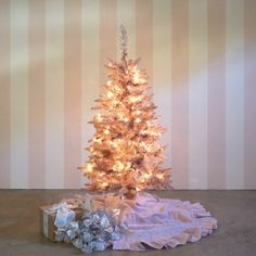 Pink Tinsel Tree 4' - SOLD OUT