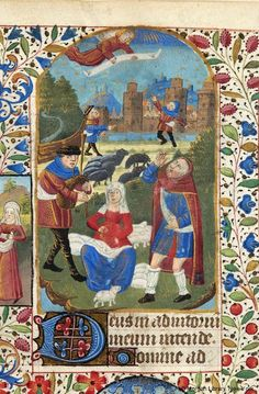 Book of hours, MS M.32 fol. 39r - Images from Medieval and Renaissance Manuscripts - The Morgan Library & Museum