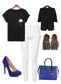 """""""Untitled #941"""" by katie-francesca-kelland ❤ liked on Polyvore featuring Mother, Jessica Simpson, Michael Kors and River Island"""