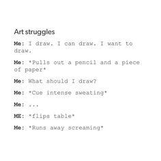 art struggles