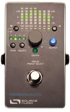 Source Audio Programmable EQ Pedal Review