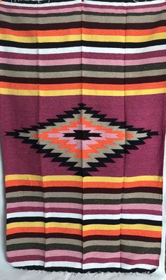 Amazingly vivid and versatile. They are great as shawls at a beach bonfire or a perfect blanket for a festival, a throw for a couch or bed, or a a wall tapestry! They are approximately feet by 4 feet. Mexican Interior Design, Beach Bonfire, Grey Yellow, Wall Tapestry, Loom, Mexican Blankets, Textiles, Shawls, Fabrics