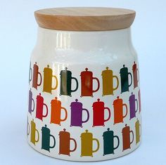 Royal Stafford Silhouette Coffee Storage Jar