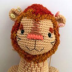 Crochet LION pattern, Amigurumi wild cat, lion cub, PDF tutorial in English Crochet Animal Patterns, Crochet Doll Pattern, Stuffed Animal Patterns, Crochet Patterns Amigurumi, Amigurumi Toys, Pattern Cute, Crochet Lion, Handmade Toys, Handmade Ideas