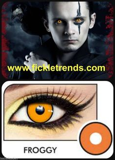 Halloween Froggy eye lens Fast shipping #HalloweenCrazyLens