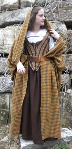 Custom Women's Highland Dress Made to Order. $400.00, via Etsy.