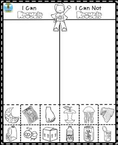 Science Coloring Pages for Kindergarten Fresh Pin by Cahill S Creations On Kindergarten Freebies Kindergarten Freebies, Kindergarten Science, Science Classroom, Tornado In A Bottle, Earth Day Activities, Therapy Activities, Art Activities, Recycling, Science Worksheets