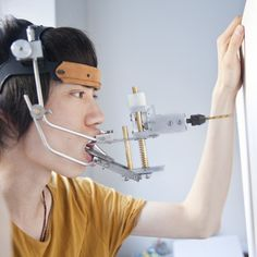 These tools by Royal College of Art graduate Cheng Guo are controlled by simple mouth movements like chewing and blowing