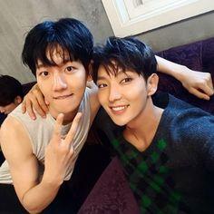 Baekhyun and Joon Ki