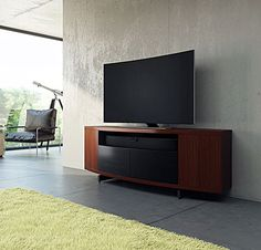 Vertica Low Media Cabinet | Cabinets, Medium and By