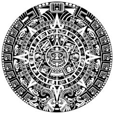 Mayan calendar - Stock Illustration