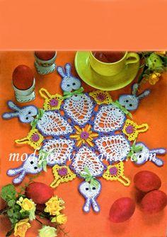 conigli   Hobby lavori femminili - ricamo - uncinetto - maglia