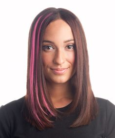 Hair Treats has created pink hair extensions in partnership with the Canadian Cancer Society to raise funds for cancer research! #pink #october #hair