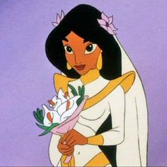 *PRINCESS JASMINE ~ Aladdin III: And the King of Thieves, 1996 - Wedding.