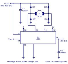 12 volts dc motor speed controller circuit diagram using