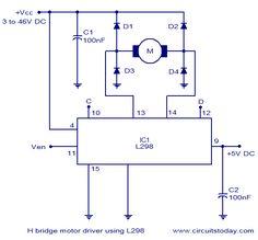 Circuito de Ponte H - Controlador de motor