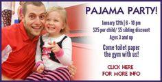 Best Gymnastics Pajama Party 2013 - Best Gymnastics #gymnastics #kids
