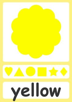 color-flashcards-yellow