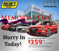 memorial day auto lease deals