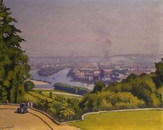 Albert Marquet (1875-1947) Canteleu, près de Rouen. Après-midi de soleil, vers 1927 Huile sur toile - 50 x 61 cm Collection privée Photo...