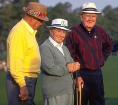 Sam Snead, Byron Nelson, 1993 Sam Snead, Famous Golfers, Byron Nelson, Jack Nicklaus, Golf Lessons, Sports Illustrated, Make More Money, Masters, Golf Stuff