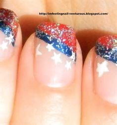 4th of july solar nails - Yahoo! Image Search Results