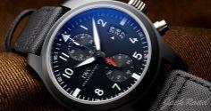 IWC Pilots Watch Chronograph Top Gun / Ref.IW388001