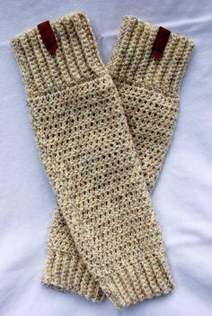 Boot Socks Boot socks with leather leg warmers by KarinChristiana