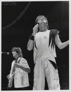 Yes, Jon Anderson, Trevor Rabin, NYC, 1984 @ Laura Levine