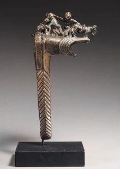 Bactrian bronze axe head