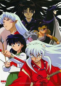 Amor Inuyasha, Inuyasha Love, Inuyasha And Sesshomaru, Sango Y Miroku, Kagome Higurashi, Manga Anime, Poster Anime, Kohaku, Anime Shows