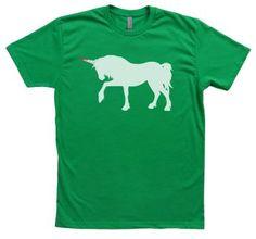 824286ca3 Green Unicorn'd Tee by Punchgut! #shirt #tshirt #artshirt #fashion