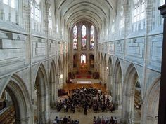 Chateau De Blois Interior | Interior of the Cathedral of Blois