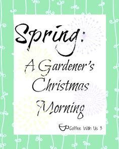 Spring Printables: Gardener's Spring Printable by Coffee With Us 3
