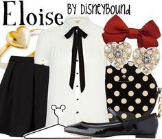 Eloise at the Plaza Geek Chic Fashion, Denim Fashion, Fashion Outfits, Disney Fashion, Tv Show Outfits, Outfits For Teens, Cute Outfits, Disney Inspired Outfits, Disney Outfits