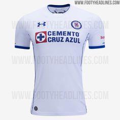 Cruz Azul 17-18 Home, Away & Third Kits Leaked - Footy Headlines