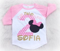 11 Best Minnie Mouse Birthday Shirts Images