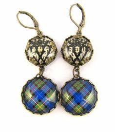 Tartan Jewelry  Ancient Romance Series  Smith by DivaDesignsInc, $24.50  https://www.etsy.com/listing/203490852/tartan-jewelry-ancient-romance-series
