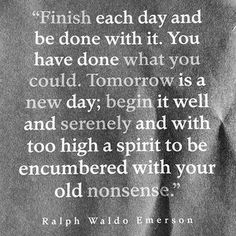 Ralph Waldo Emerson -- my uncle gave me this quote many years ago and said he reads it at the end of each day to keep life in perspective.  I love it.