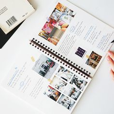 Modern journaling . Not so scrapbooky but still has that personal feel of a journal. One of my fave examples