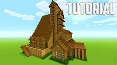 Minecraft Tutorial: How To Make A Big Mansion | Survival House [ Part 1 ]