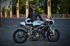 Ducati 999 Sport Classic Cafe Racer - IaMoto Factory #motorcycles #caferacer…