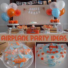 Boy's Airplane Birthday Party Ideas - Pretty My Party