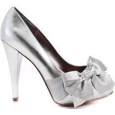 Paris Hilton Destiny - Silver Metallic - Polyvore