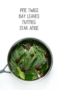 Natural ways to get your house smelling like the holidays. This would be wonderful - as long as you weren't allergic to the pine sap. Homemade Potpourri, Potpourri Recipes, Stove Top Potpourri, Simmering Potpourri, Christmas Home, Christmas Crafts, Christmas Decorations, House Decorations, Homemade Christmas