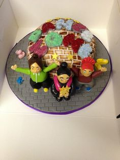 Another cake for the local dance group, by Lady T Cakes