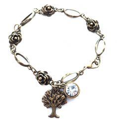 Handmade bracelet Forest Tree   Shop it at Katynka Sieraden   www.katynka.nl