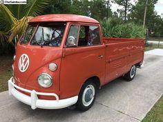1964 T1 VW Single Cab,1600cc West palm beach, Florida, USA  http://www.thesamba.com/vw/classifieds/detail.php?id=1637185